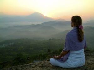 Meditation-ebooks-woman-meditating-peacefully