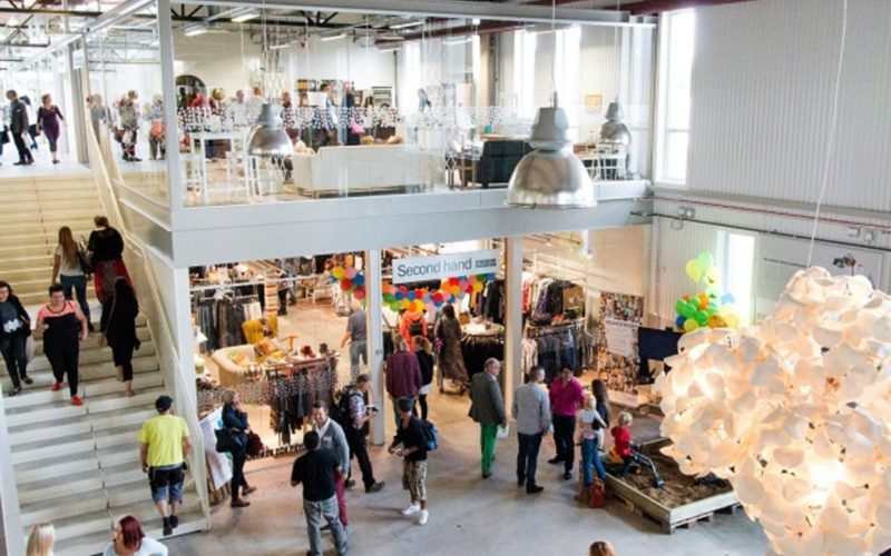 This Swedish Mall Sells Only Recycled and Sustainable Things