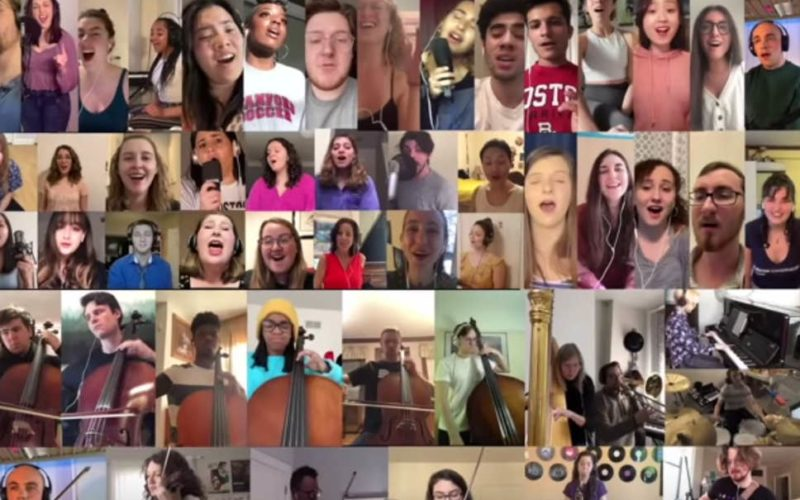 Virtual 'Love Sweet Love' From Quarantined Berklee College of Music Students