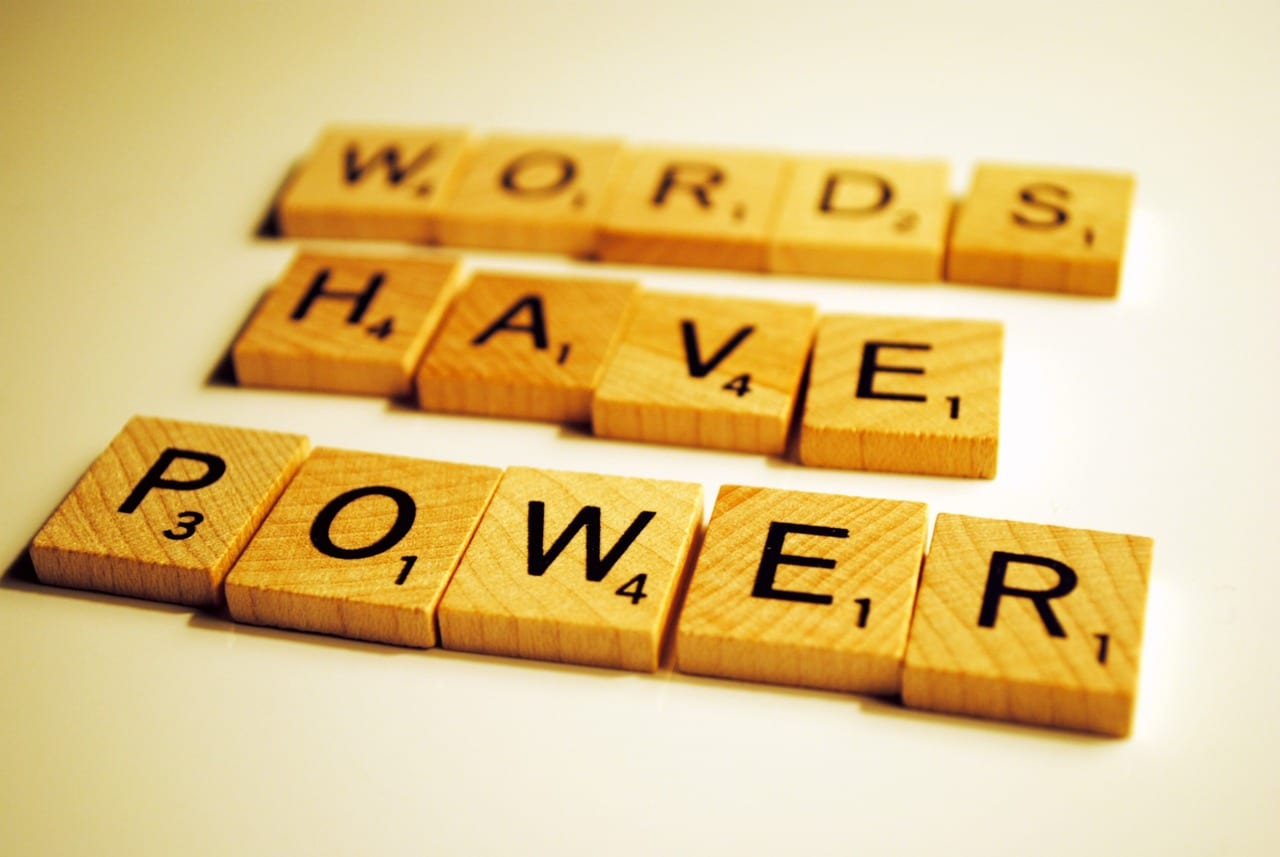 power of words meaning