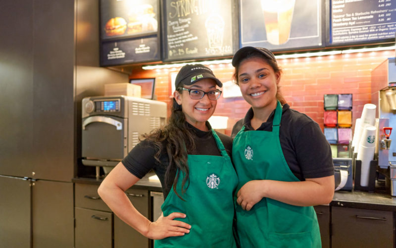 Starbucks Pays Workers to Spend Half Their Time Volunteering